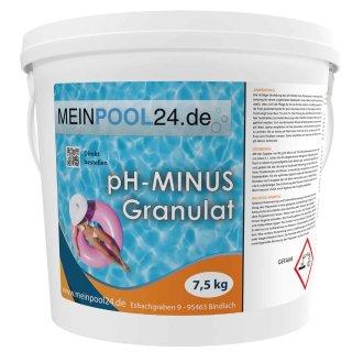 15 kg (2 x 7,5 kg) pH-Senker Granulat