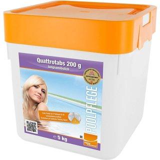 10 kg (2 x 5 kg) Chlor Quattrotabs Steinbach