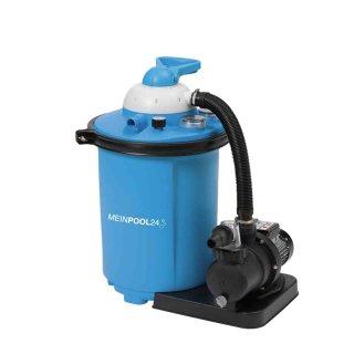 MP24 Filteranlage Speed Clean Comfort 75 für Pools bis 40.000 l