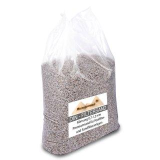 Filtersand für Sandfilteranlagen 0,4-0,8 mm H1